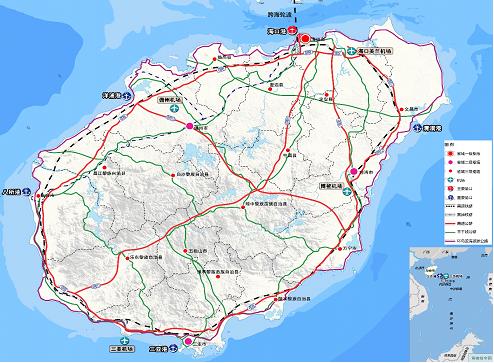 海南电子地图全图