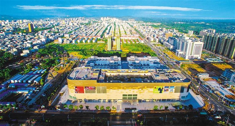 儋州四小学校园风景