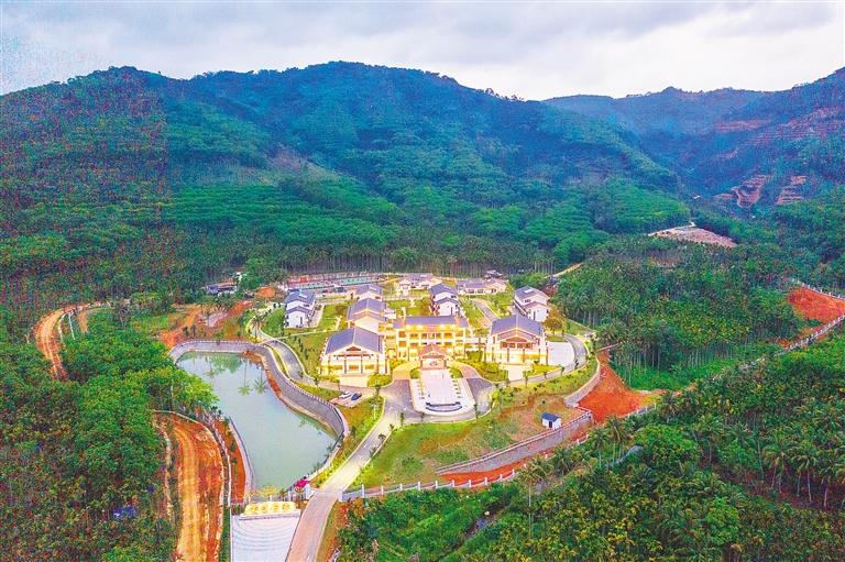 母瑞山干部学院(筹)一期项目建成