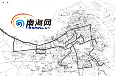 (注:图中28路、35路、37路、40路4条线路规定的终点站都是...