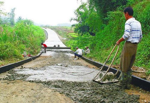 乡村公路建设之新闻背景