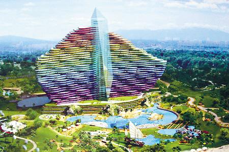 风格不与亚龙同 三亚海棠湾将建25家高星酒店