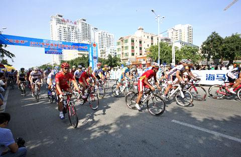 环岛自行车第一赛段比赛圆满结束 -- 海南省人民政府
